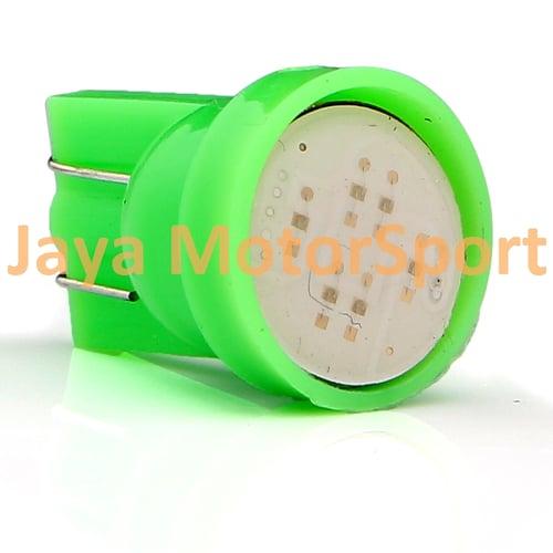 JMS - Lampu LED Mobil / Motor / Senja T10 w5w / Wedge Side COB 2W - Green