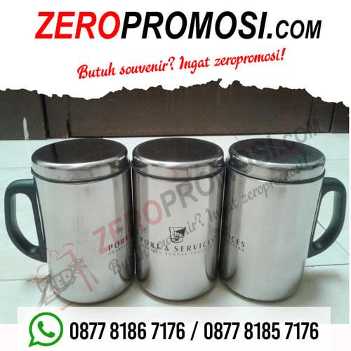Mug Stainless Stell Promosi / Tumbler Promosi / Ct 48 Ss