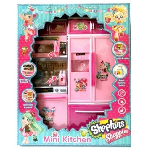 Mini Modern Kitchen Set Shopkins Shoppies DN9916 - Kids Toys