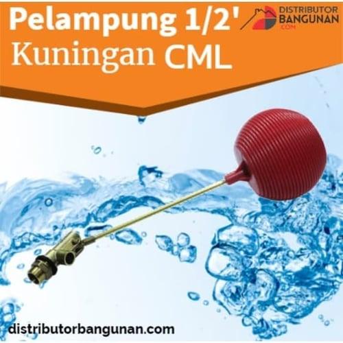 pelampung 1per2 kuningan CML