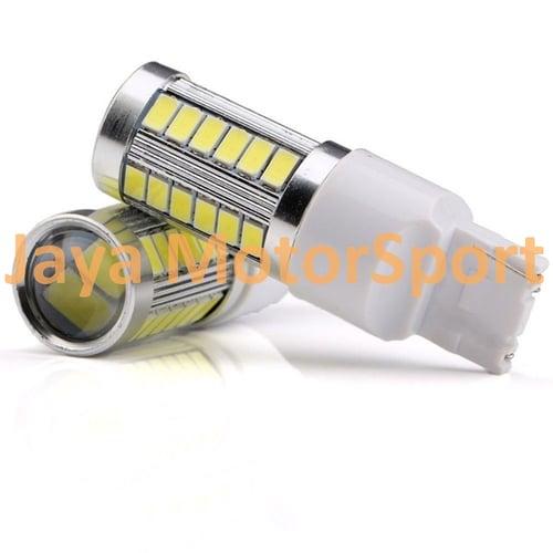 Lampu LED Mobil / Motor 7440 T20 33 SMD 5730 Green