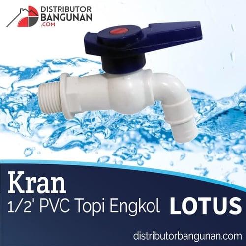 LOTUS Kran 1per2 Pvc Topi Engkol
