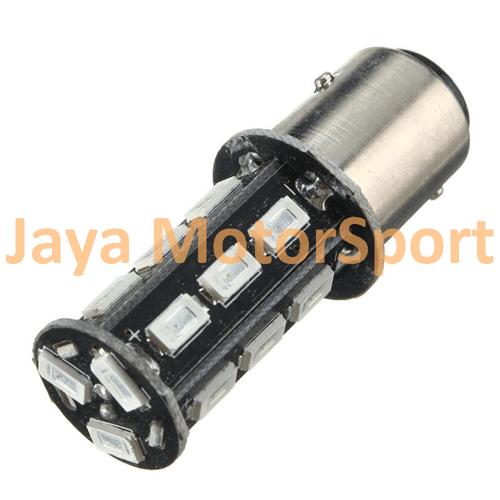 JMS - Lampu LED Mobil / Motor S25 / Bayonet / 1156 / BA15S 18 SMD 5630 - Yellow
