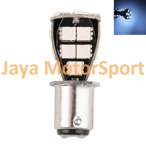 JMS - Lampu LED Mobil / Motor / Bayonet S25 1156 / BA15S Canbus 21 SMD 5050 - White
