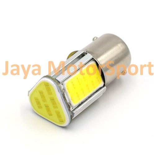 JMS - Lampu LED Mobil / Motor / Bayonet S25 1157 / BAY15D COB 24 SMD - White