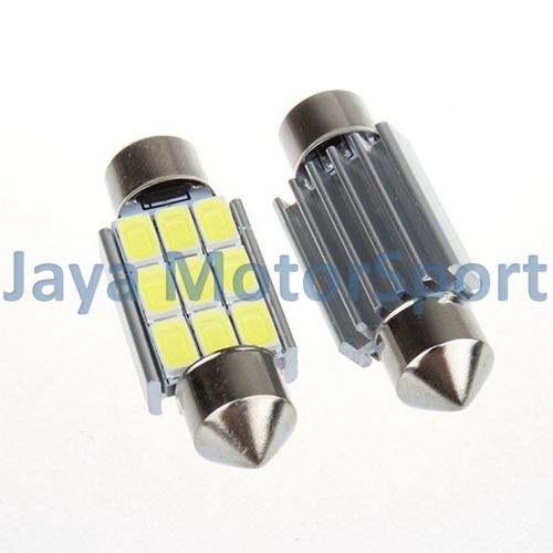 JMS Lampu LED Mobil Double Wedge Canbus 9 SMD 5630 36 mm - White