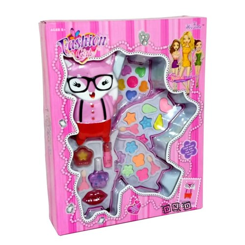 FASHION GIRL Makeup Rubah Beauty Play Set 4 Susun V10679 - Kids Toys