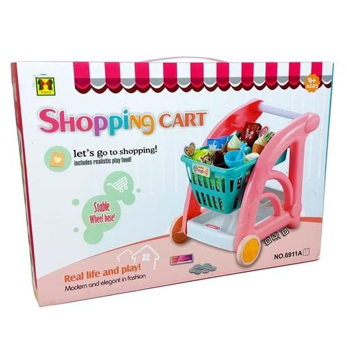 Shopping Cart Trolley Troli Gerobak Belanja 6911 - Kids Toys