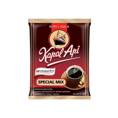 KAPAL API Special Mix 12 rtng x 10 bungkus x 24g  (FREE ONGKIR MIN  BLANJA Rp.1.000.000)