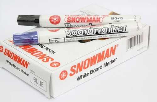 SNOWMAN Spidol Permanen 1 Box