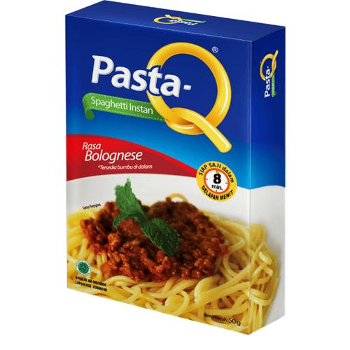Pasta-Q Spaghetti Instan Rasa Bolognese 50gr