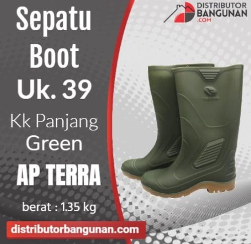 Sepatu Boot Uk 39 Kk Pjg Green AP TERRA