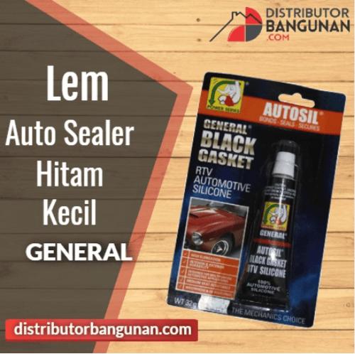 Lem Auto Sealer Hitam Kecil GENERAL