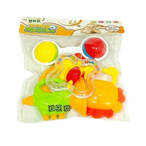 Baby Rattles Kerincingan Bayi Set Isi 5 K225D-35 - Kids Toys