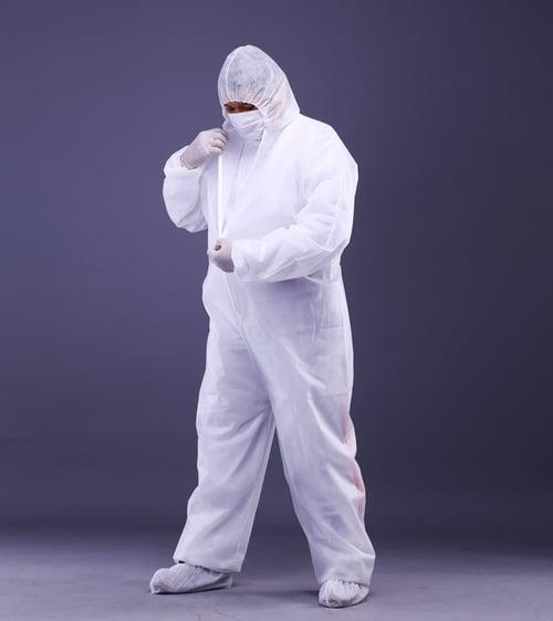 SOLIDA Protective Coverall PP - Non Woven - Disposable