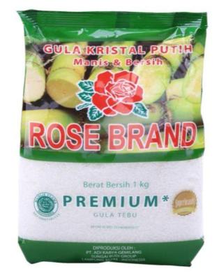 ROSE BRAND Gula Pasir Putih 1 Kg
