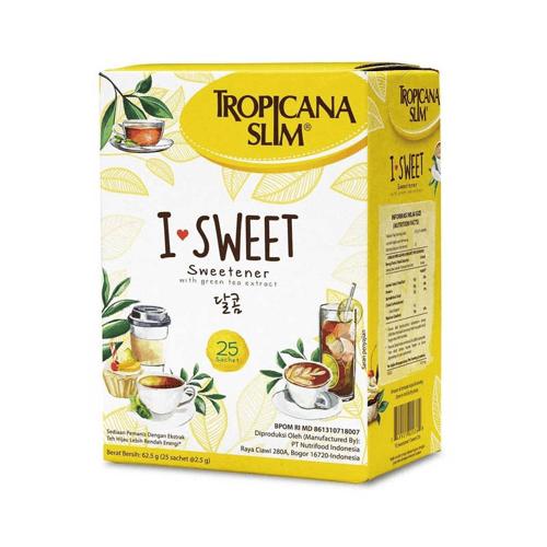 TROPICANA SLIM I Sweet (25 Sachet) 1 Dus