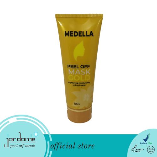 Jordanie Medella Peel Off Mask Gold 100 gram