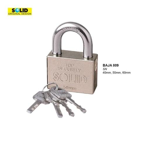 809-50 PADLOCK SN SOLID