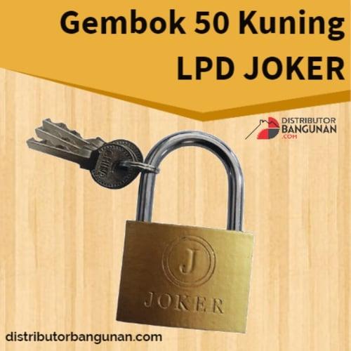 Gembok 50 Kuning Lpd JOKER