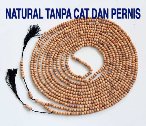 Tasbih Puspita  - Tasbih 1000 Butir Kayu Walikukun Natural TANPA CAT dan PERNIS
