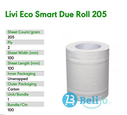 Tissue Livi Roll 205s