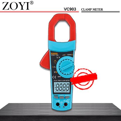 ZOYI VC903 Auto Range Clamp Meter Tang Amper Digital Tang Ampere