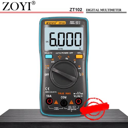 ZOYI ZT True RMS Multimeter Multitester Digital Avometer Ori