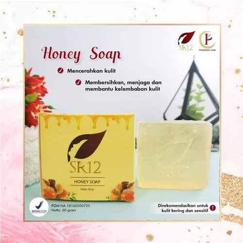 SR12 Honey Soap 60 Gr