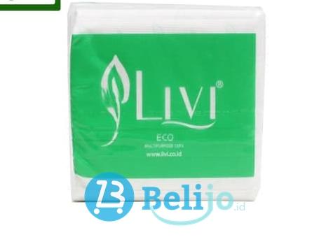 LIVI Tissue Eco Multipurpose Pop up Hijau 150s