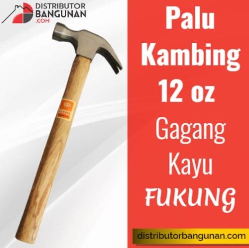 Palu Kambing 12 oz Gagang Kayu FUKUNG