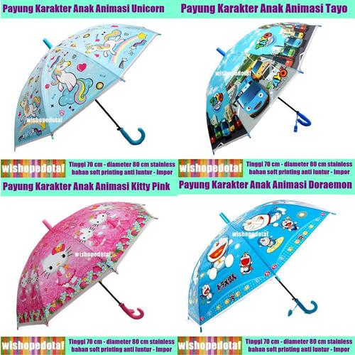 Payung Anak Animasi Soft karakter