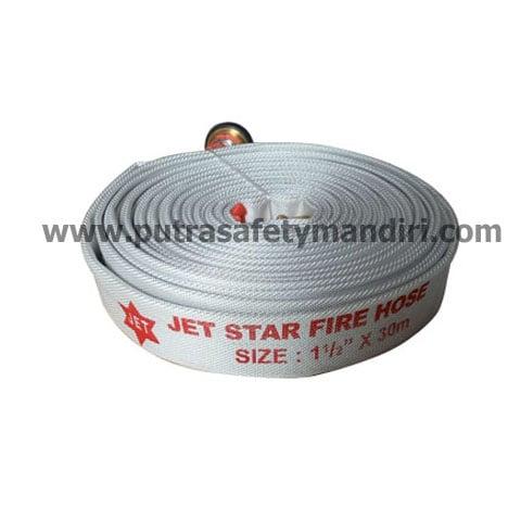 JETSTAR CANVAS 1.5INCH X 30M FIRE HOSE COUPLING MACHINO SELANG PEMADAM KEBAKARAN HARGA MURAH