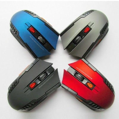 Mouse Gaming Wireless 2.4GHz dengan USB Receiver
