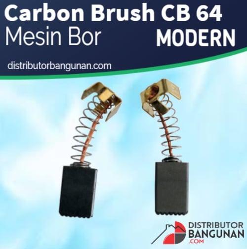 Carbon Brush CB 64 Mesin Bor MODERN