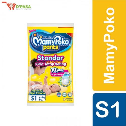 MAMY POKO PANTS STANDAR S 1 - ISI 10 PCS