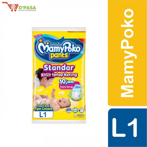 MAMY POKO PANTS STANDAR L 1 - per RENCENG (10 pcs)