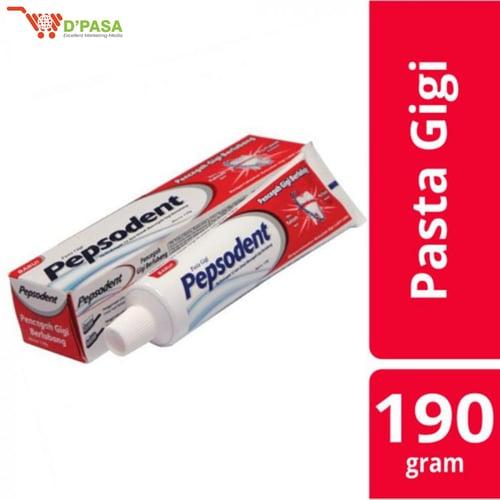 PEPSODENT PASTA GIGI WHITE 190GR