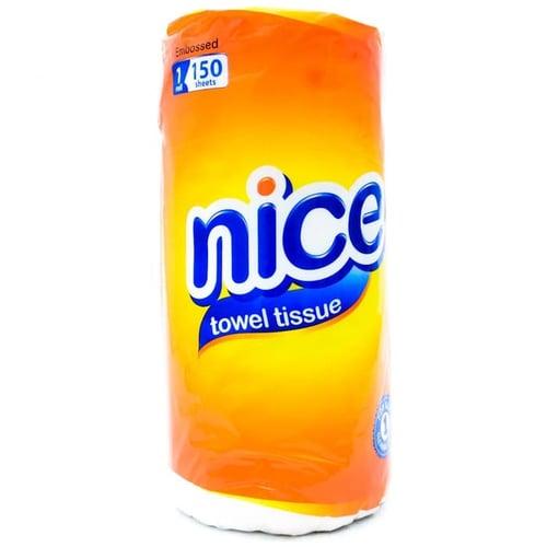 Tissue Nice Towel - Tissue Serap Minyak - Tissue Gulung Nice Towel -150 S - Tissue Dapur