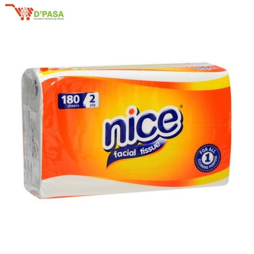 TISSUE NICE 180 SHEETS 2 PLY