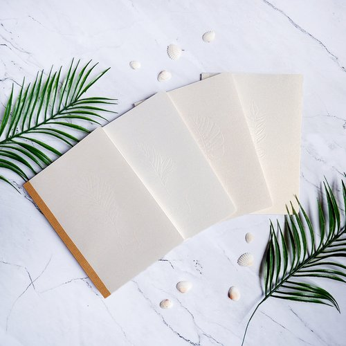 Leaf Impression Standard Notebook B5 Grid / Buku Tulis B5 Kotak Kotak