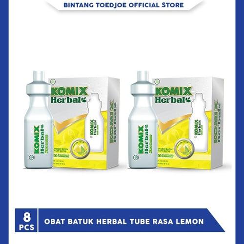 Obat Batuk Jahe Merah Lemon Tube 2 Pack (1 Pack 4 Pcs)