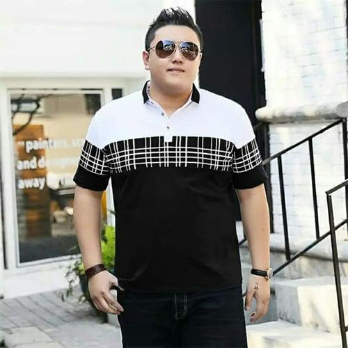 Terlaris Tshirt Anthony Jumbo Tshirt Pria Big Size Model Casual Terkini