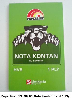 Paperline PPL NK K1 Nota Kontan Kecil 1 Ply