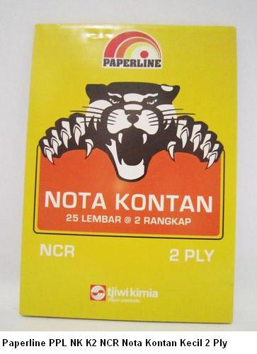 Paperline PPL NK K2 NCR Nota Kontan Kecil 2 Ply