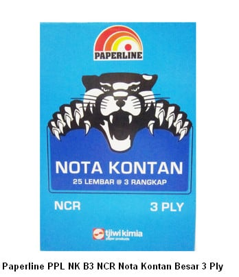 Paperline PPL NK B3 NCR Nota Kontan Besar 3 Ply