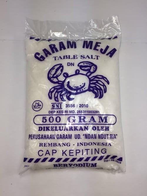 KEPITING Garam 500 Gr