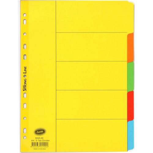Bantex 6045-00 Carton Divider A4 5 Dividers