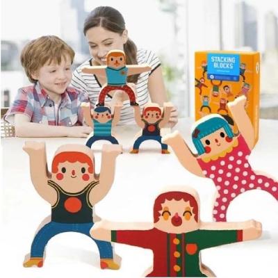 Mainan Balance Susun Blok Hercules Puzzle Edukasi