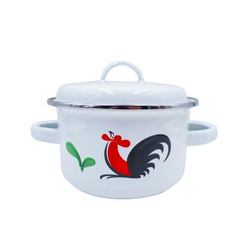 KedaungHome Panci Ayam Enamel KI-105/14